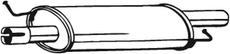 Silencieux central BOSAL 233-575