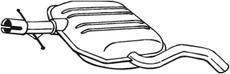 Silencieux central BOSAL 233-689