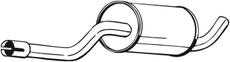 Silencieux central BOSAL 235-259