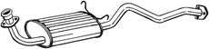 Silencieux central BOSAL 280-159