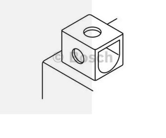 BOSCH - Batterie moto Bosch 12V 6 Ah 50 A - (Ref origine: YTX7L-4 ou YTX7L-BS) - 0092M60060