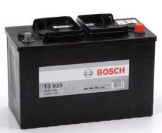 BOSCH - Batterie poids lourd Bosch 12V 110 Ah 680 A - 0092T30350