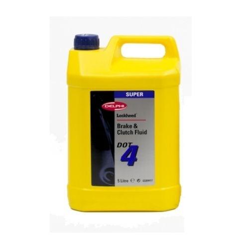 DELPHI - Liquide de frein Dot 4 Super 5 litres - SSB9416M
