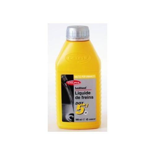 DELPHI - Liquide de frein Dot 5.1 Ultra - 0.5 litre - SSB9512M