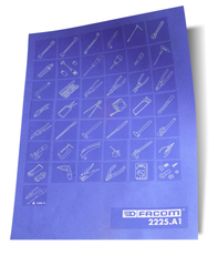 FACOM - Planche de pictogrammes - 2225.A1