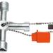 FACOM - Clé 4 empreintes pour armoires - 985548