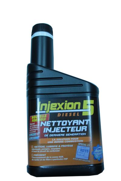 Nettoyant circuit moteur Diesel Injexion 5 500 ml. Nouvelle Génération. Ref IDA2