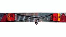 TOPCAR - Rampe d'éclairage complète pour remorque bagagère - 16135