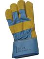SINGER - Paire de gants paume cuir croûte bovin jaune - Taille 10 - 501SYRGY