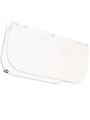 SINGER - Visière polycarbonate incolore de rechange pour EVA805. (305 x 190 mm) - ACC805