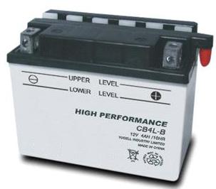 TOPCAR - Batterie moto 12V 3Ah - CB4L-B