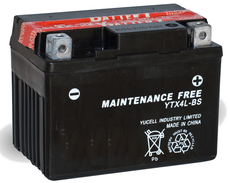 TOPCAR - Batterie moto 12V 3Ah - YTX4L-BS