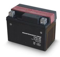 TOPCAR - Batterie moto 12V 4Ah - YTX5L-BS