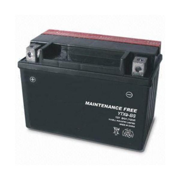 TOPCAR - Batterie moto 12V 8Ah - YTX9-BS