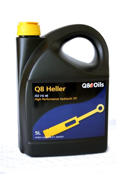 Q8 - Bidon 5 litres d'huile pour systèmes hydrauliques Heller 46 - 101352401616