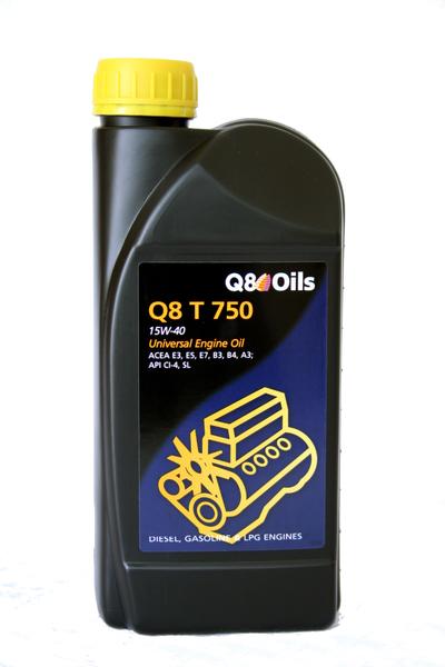 Q8 - Bidon 5 litres d'huile moteur T 750 15W40 - 101155201616