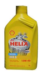 Bidon 1 litre d'huile diesel Shell Helix HX5 15W40 550020047