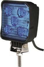 Phare de travail carré bleu LED TOPCAR 17117