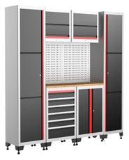 TOPCAR - Meuble de rangement atelier 6 modules 9 pièces - RACING-MRA-6M9P