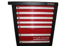 TOPCAR - Servante Complète 7 tiroirs 383 pièces - RACING-R7T3M