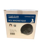 TOPCAR - Bol magnétique noir 145 mm - TOPMAG1005