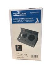 TOPCAR - Support magnétique gris pour tournevis et aérosols - TOPMAG1035