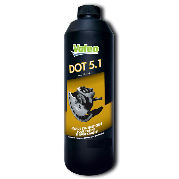 VALEO - Liquide de freins 5 litres DOT5.1 - 402409