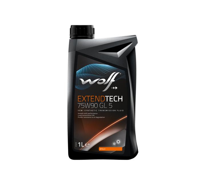 WOLF - Bidon 1 litre d'huile 75W90 POLYGEAR75W901 - 8303302