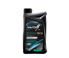 WOLF - Bidon 1 litre d'huile moteur 5W30 C1 SYNFLOWC15W301 - 8307713