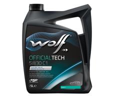 WOLF - Bidon 5 litres d'huile moteur 5W30 C1 SYNFLOWC15W305 - 8307911