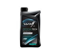 WOLF - Bidon 1 litre d'huile moteur 5W30 C4-10 SYNFLOWC45W301 - 8308314