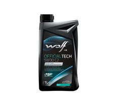 WOLF - Bidon 1 litre d'huile moteur 5W30 OFFICIALTECH 5W30 C2 - 8308918