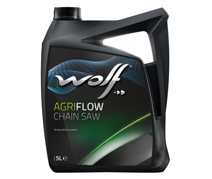 WOLF - Bidon 5 litres d'huile pour scie à chaîne Wolf CHAIN SAW OIL EXTRA - 8304811