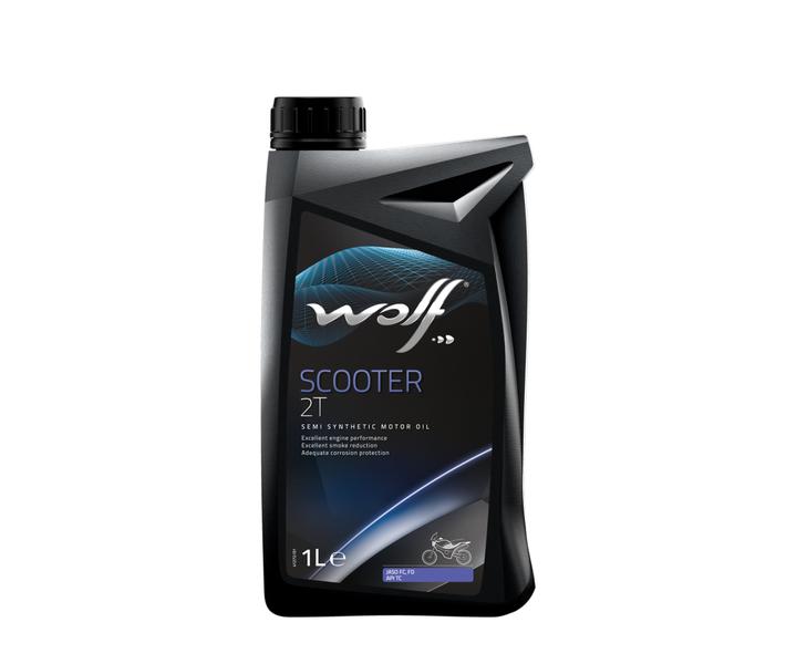 WOLF - Bidon 1 litre d'huile pour scooter - 8306815